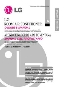 Руководство пользователя LG LT1230CR