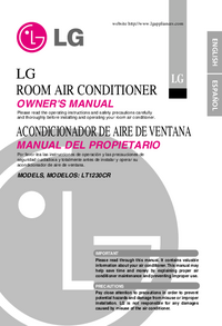 User Manual LG LT1230CR