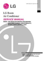 manuel de réparation LG L8004RY4