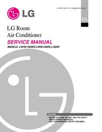 Service Manual LG LWHD1500ER