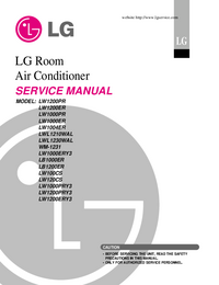 Service Manual LG LW120CS