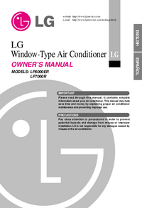 Manual del usuario LG LP6000ER