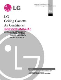 Serviceanleitung LG LCU340CP