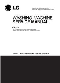 Руководство по техническому обслуживанию LG WM1812CW