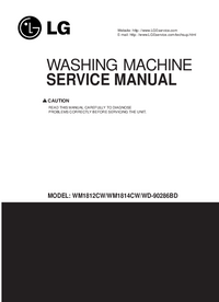 Service Manual LG WM1812CW