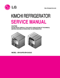 Service Manual LG GR-K24PS
