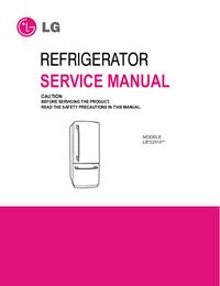 Manuale di servizio LG LB*22515**