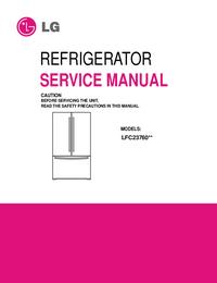 manuel de réparation LG LFC23760**