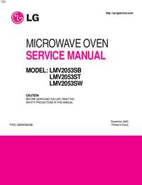 Руководство по техническому обслуживанию LG LMV2053SB