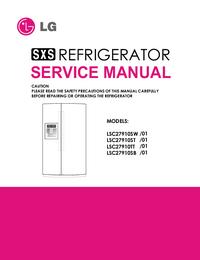 Manual de servicio LG LSC27910ST /01