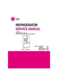 Manuale di servizio LG LFX25961**