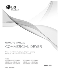 User Manual LG GD1329CGU