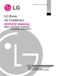 Service Manual LG LWHD1807HR