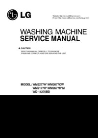 Manual de servicio LG WM2177H*