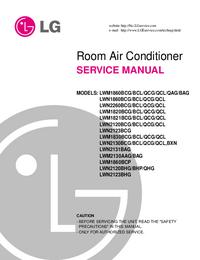 manuel de réparation LG LWN2120BHG/BHP/QHG