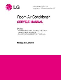 Servicehandboek LG HBLG7000H