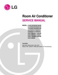 Manual de serviço LG LS-C1260CD