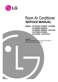 Manual de serviço LG LS-P0760HL