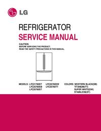 Servicehandboek LG LFC25760SB