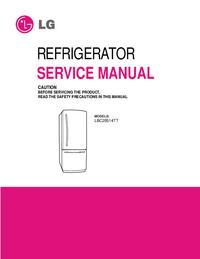 Manuale di servizio LG LBC20514TT