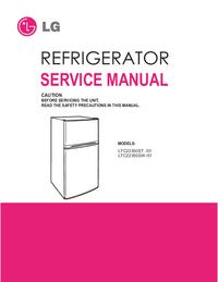 Руководство по техническому обслуживанию LG LTC22350SW /01