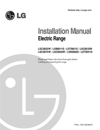 User Manual LG LSC5633W