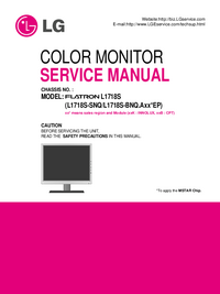 Manuale di servizio LG L1718S