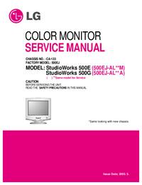 Service Manual LG StudioWorks 500G