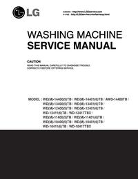 Service Manual LG WD-11400