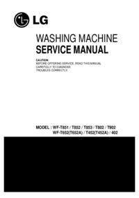 Servicehandboek LG WF-T852
