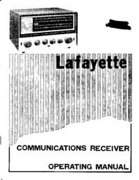 Service-en gebruikershandleiding Lafayette HA63