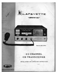 Serviço e Manual do Usuário Lafayette Comstat 25A