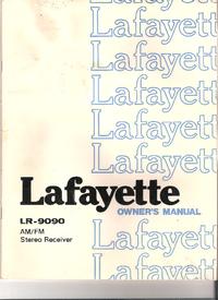 User Manual with schematics Lafayette LR-9090