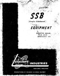 Servicio y Manual del usuario Lakeshor Band-Hopper VFO