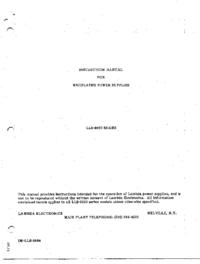 Lambda-7121-Manual-Page-1-Picture