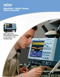 Scheda tecnica LeCroy WavePro 7300A