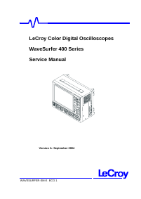 Serviceanleitung LeCroy WS434