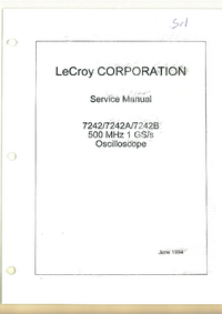LeCroy-4094-Manual-Page-1-Picture