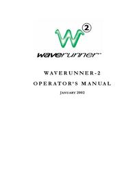 Gebruikershandleiding LeCroy Waverunner-2