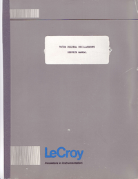LeCroy-5683-Manual-Page-1-Picture