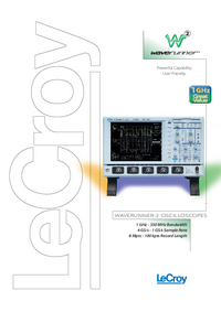 LeCroy-7132-Manual-Page-1-Picture