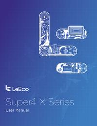 Manual del usuario LeEco Super4 X Series
