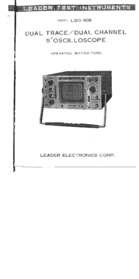 Leader-3788-Manual-Page-1-Picture