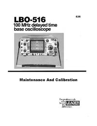 Serviceanleitung Leader LBO-516