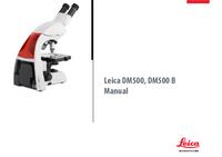 Gebruikershandleiding Leica DM500
