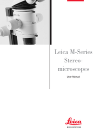 User Manual Leica MS5