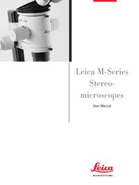 User Manual Leica MZ6