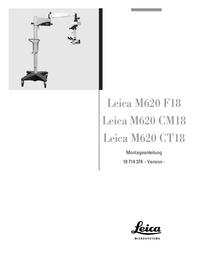 Instrukcja obsługi Leica M620 CT18