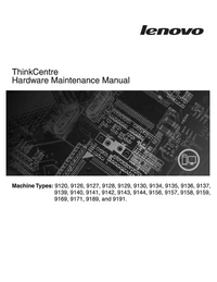 Manual de servicio Lenovo ThinkCentre 9136