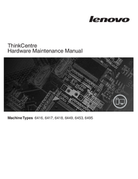 Service Manual Lenovo ThinkCentre 6417
